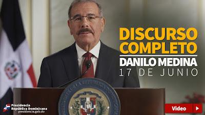 Danilo Medina: reelección servirá para profundizar cambios y democratización