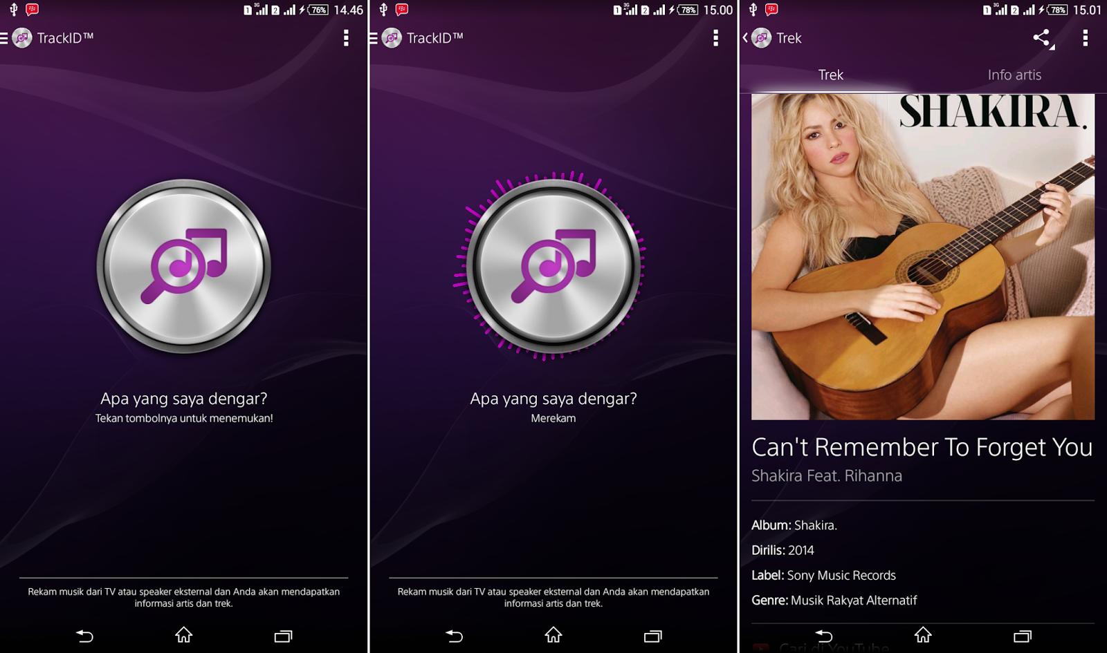 Cara Mendeteksi / Mengetahui Judul Lagu dan Penyayinya di Android
