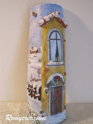 Romycreazioni tegole - Tegole decorate in rilievo ...