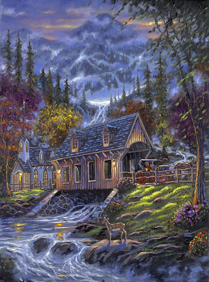 Коллекция картинок: Robert Finale. Картины ...: madamkartinki.blogspot.ru/2013/10/robert-finale.html?m=1