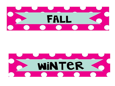 A Modern Teacher Free Seasonal Labels