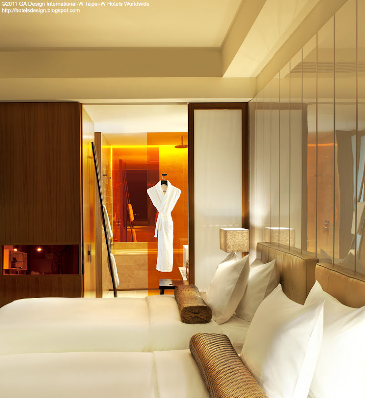 Les plus beaux hotels design du monde h tel w taipei by for Design hotels tm