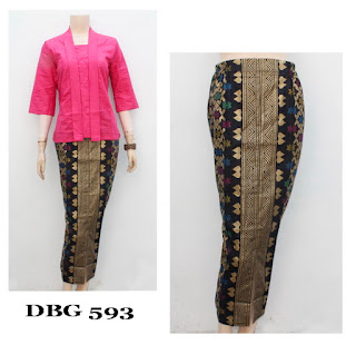 Model Baju Gamis Muslim motif prada