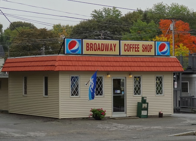 Broadway Coffee Shop,Bangor Maine,diner