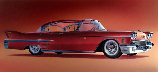 1958 キャデラック・デビル セダン | Cadillac Sedan DeVille