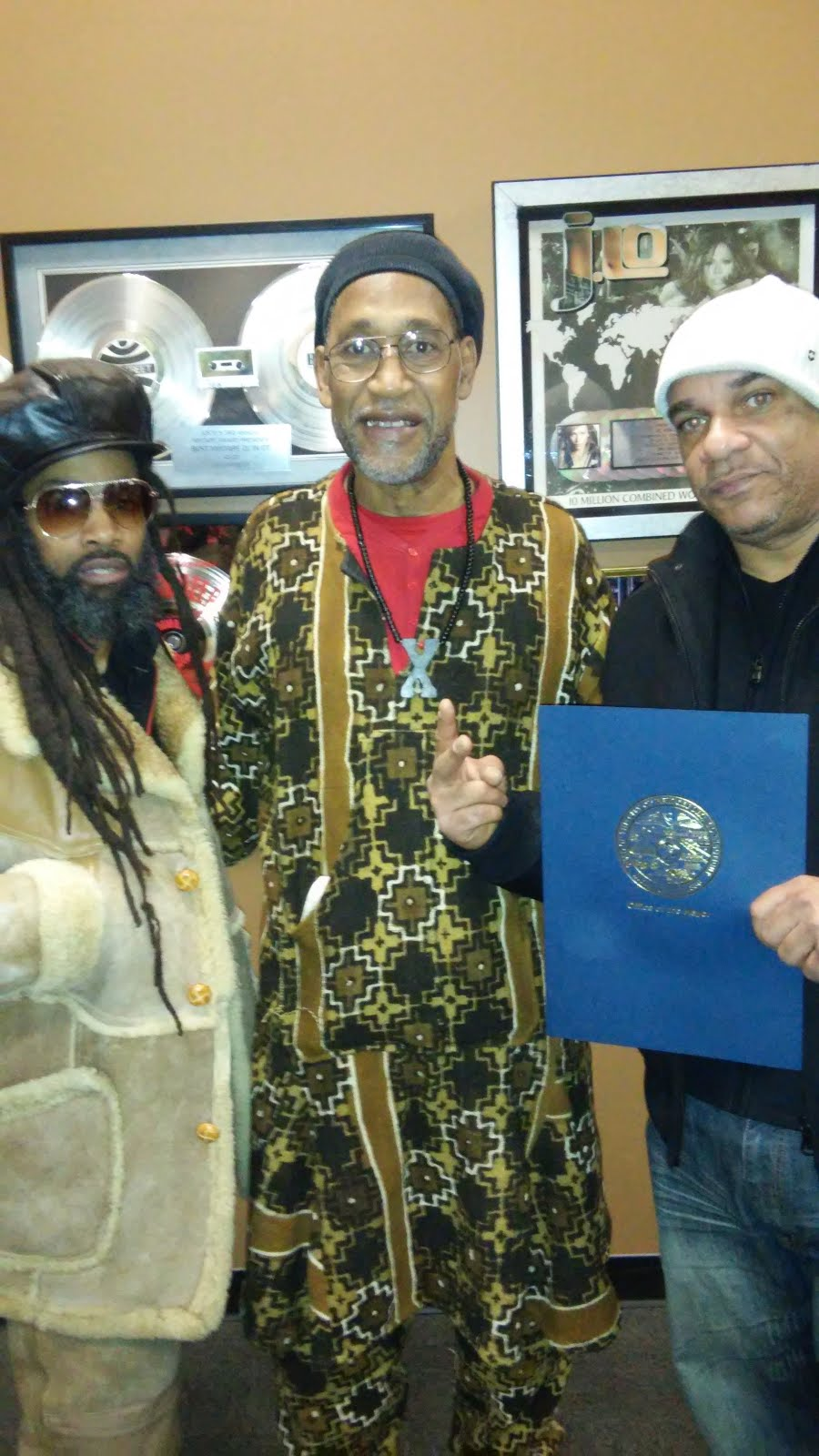 Godfather of HipHop Kool Herc, MC Jim Slice & Fresh Dre