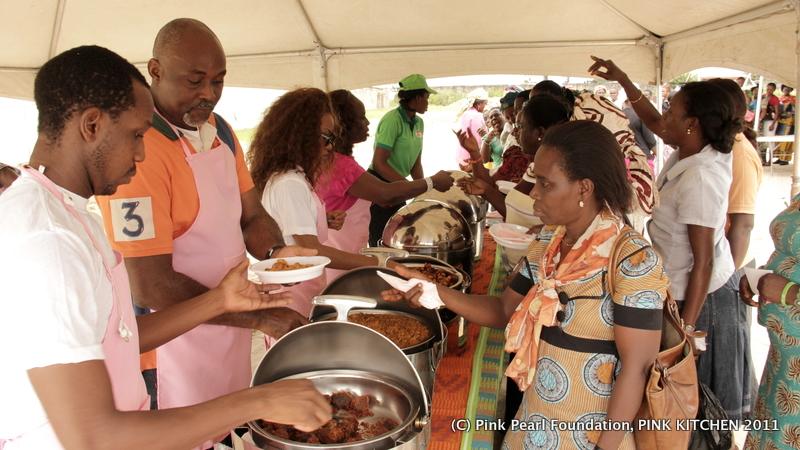 Pink Kitchen: Gov. Emmanuel Uduaghan, RMD, Mo'Cheddah and ...