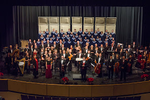 The Orchestra with the Liberty High School Choir