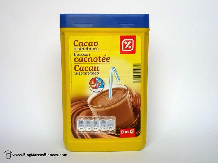 Cacao instantáneo (tipo Nesquik) DIA