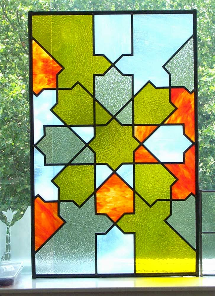 Apollo Stained Glass Islamic Geometric Pattern