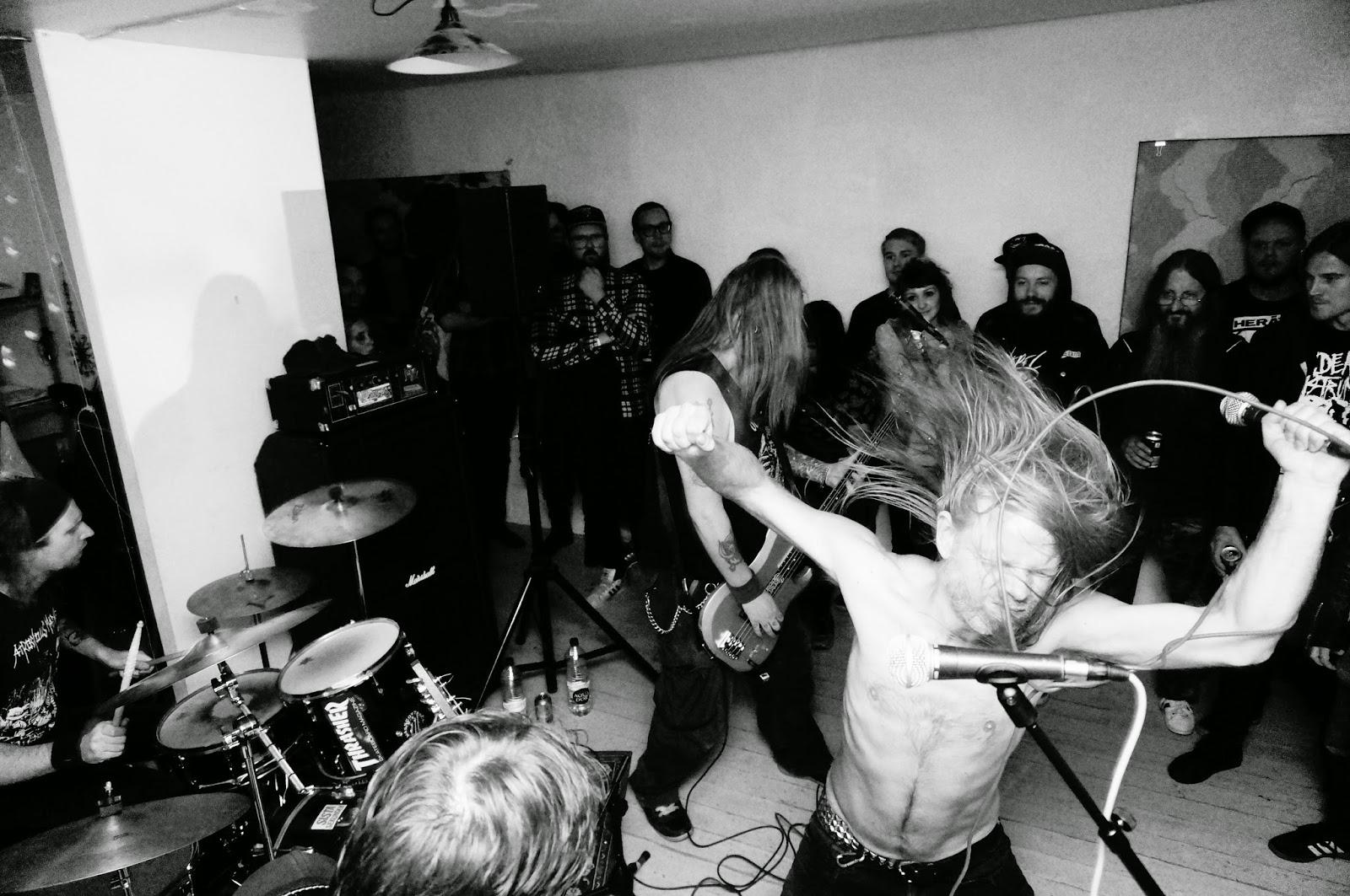 fest oskuld hardcore i Malmö
