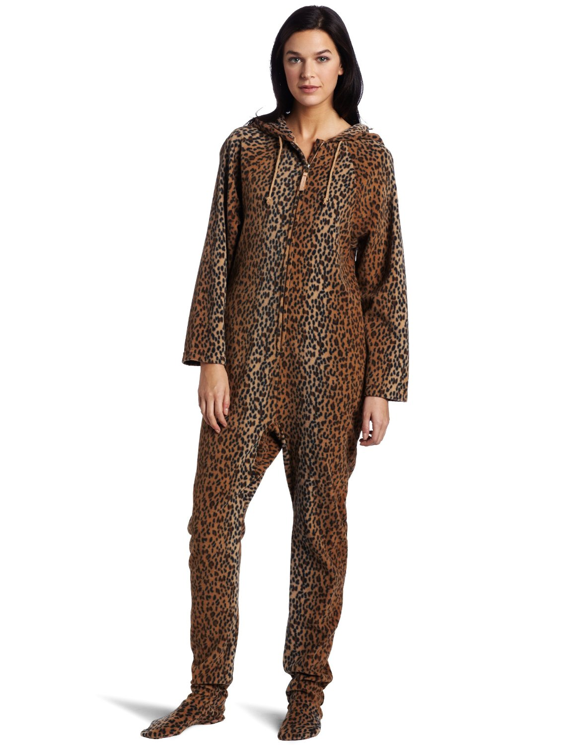 Women's onesie pajamas allow you to recreate this experience even more accurately. Onesie pajamas are just how you remember: cozy pajamas that are all one piece, sometimes even including a hood and enclosed feet.