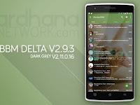 BBM Delta Keren Euy, Aplikasi Chatting Blackberry Messenger Dengan Tampilan Baru di Android