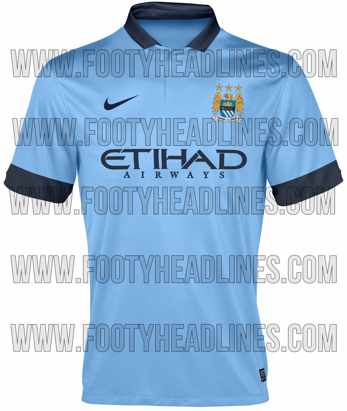 Maglie stagione 2014/2015 Manchester+City+14-15+Home+Kit