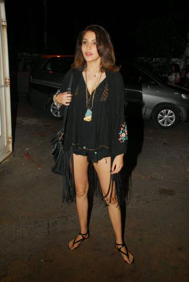 Anushka Sharma Latest Mini Dress Stills