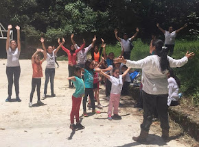 Visitan Parque El Haya, niños que asisten al curso de verano