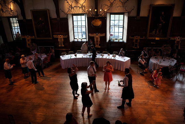 {Lillian and Leonard Wedding Photography} Blair Castle dancefloor