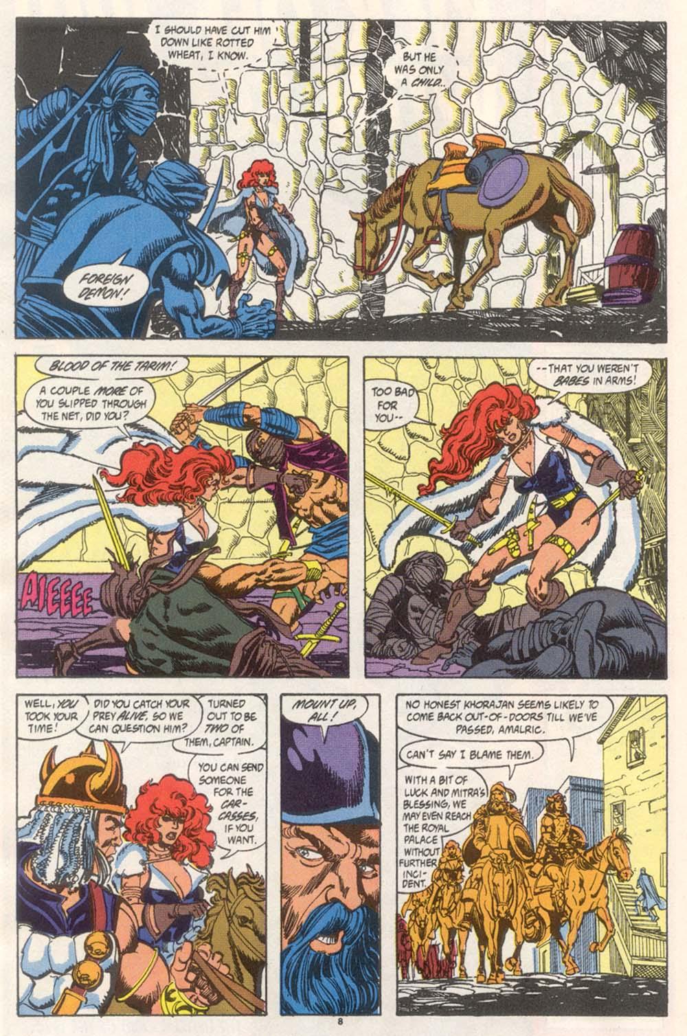 Conan the Barbarian (1970) Issue #246 #258 - English 7