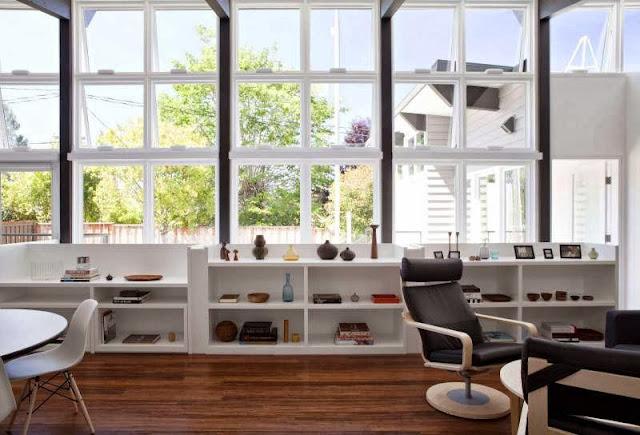white-interior-reading-room-Net-Zero-Energy-Modern-House