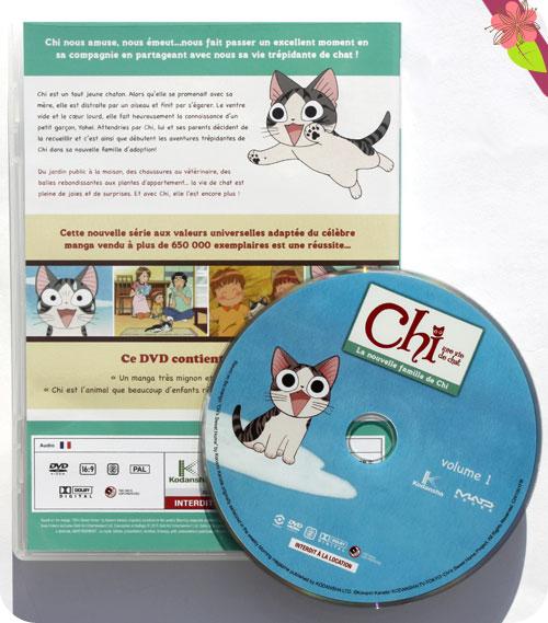 Chi une vie de chat, La nouvelle famille de Chi - DVD