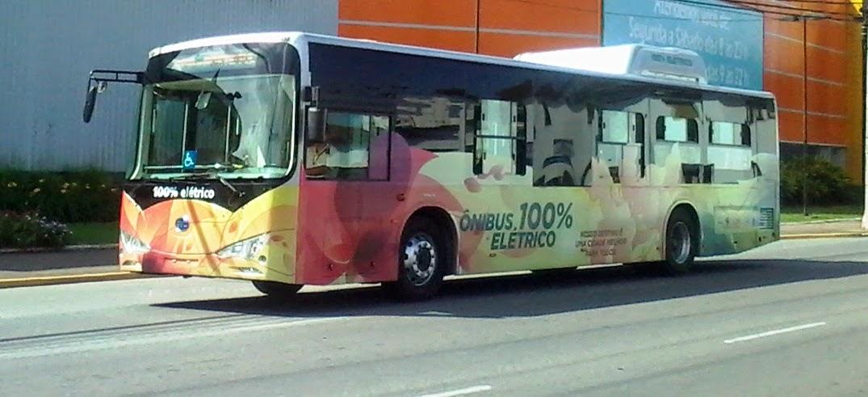 Ônibus Elétrico em Joinville