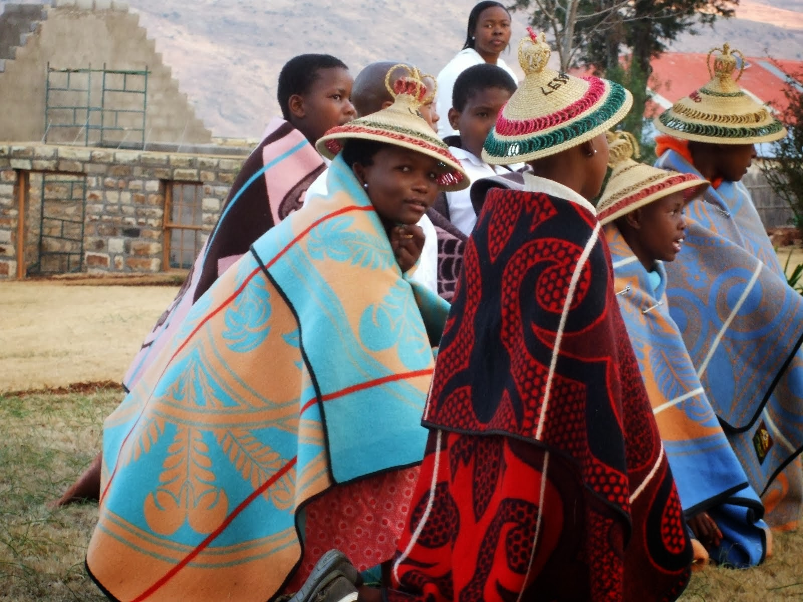 South africa lesotho for Traditional photos
