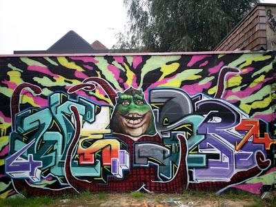 Muntplein graffiti