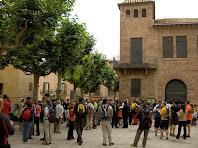 La Plaça del Vall amb l'edifici Els Catòlics. Autor: Francesc (Manresa)