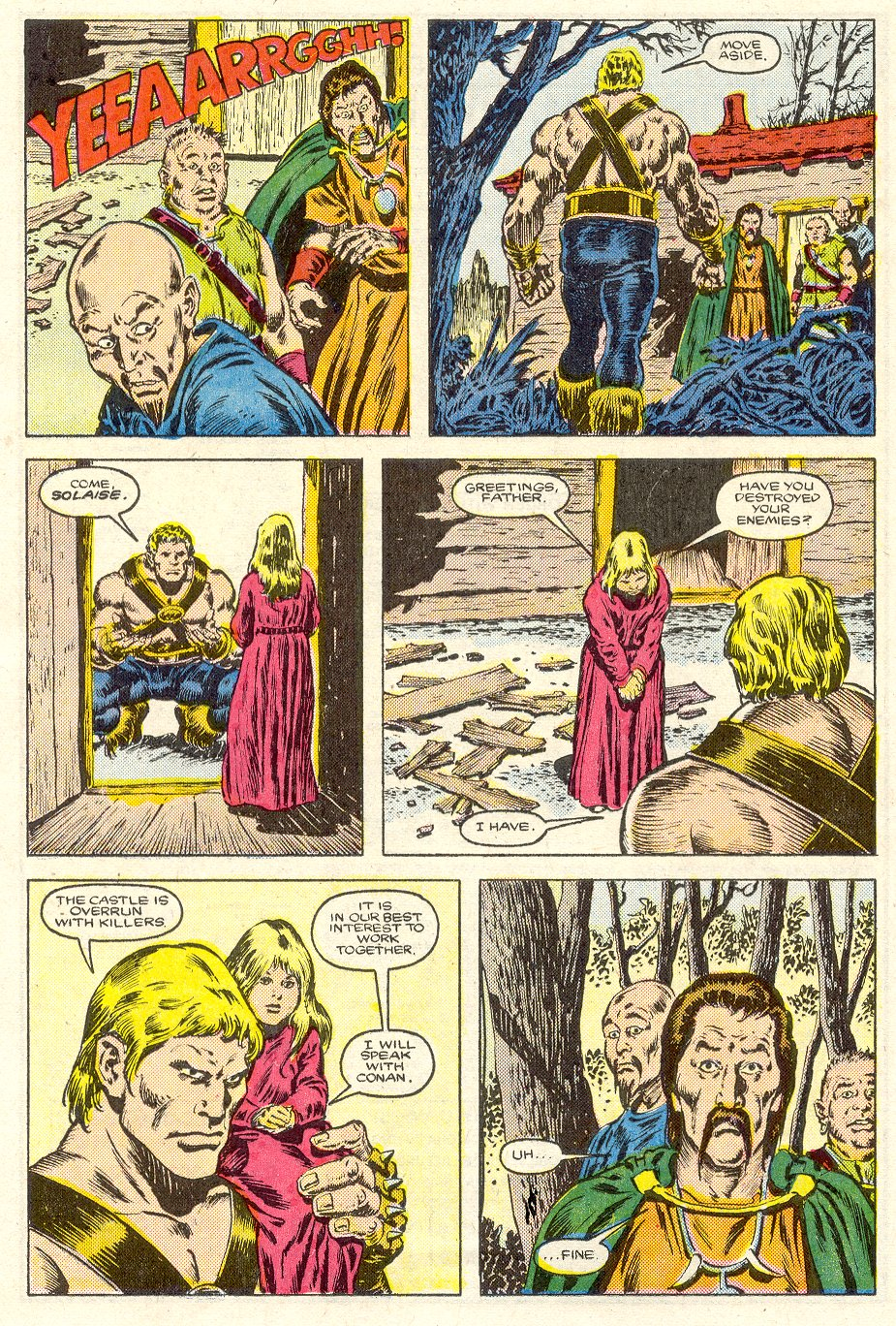 Conan the Barbarian (1970) Issue #187 #199 - English 18