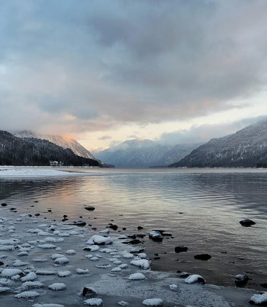 Lake Teletskoye,Russia: