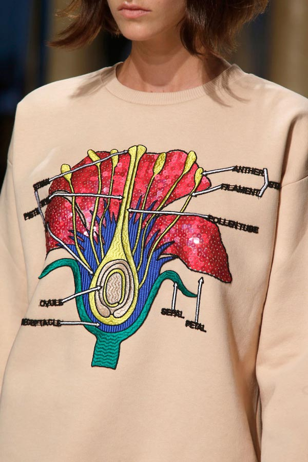 christopher kane spring summer 2014 flower