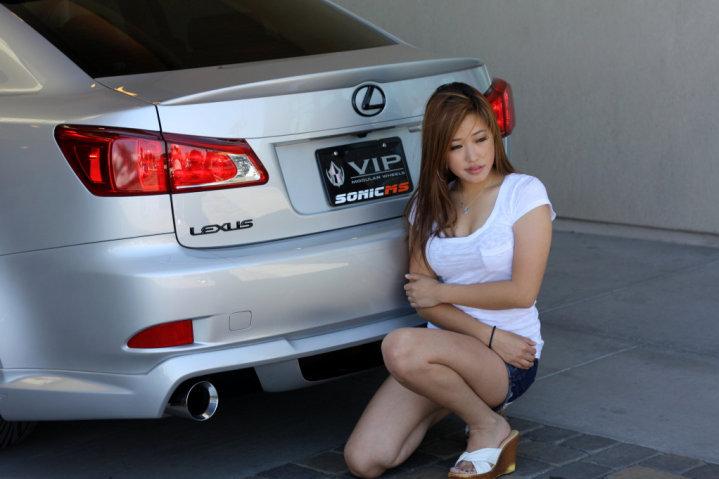 Lexus IS XE20, dziewczyny i auta, zdjęcia
