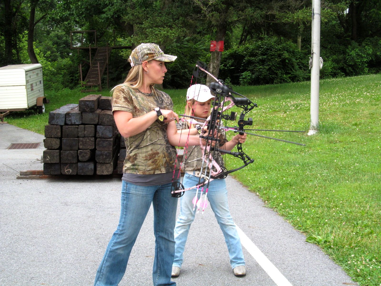 archery is a true family affair natural pursuit outdoors blog