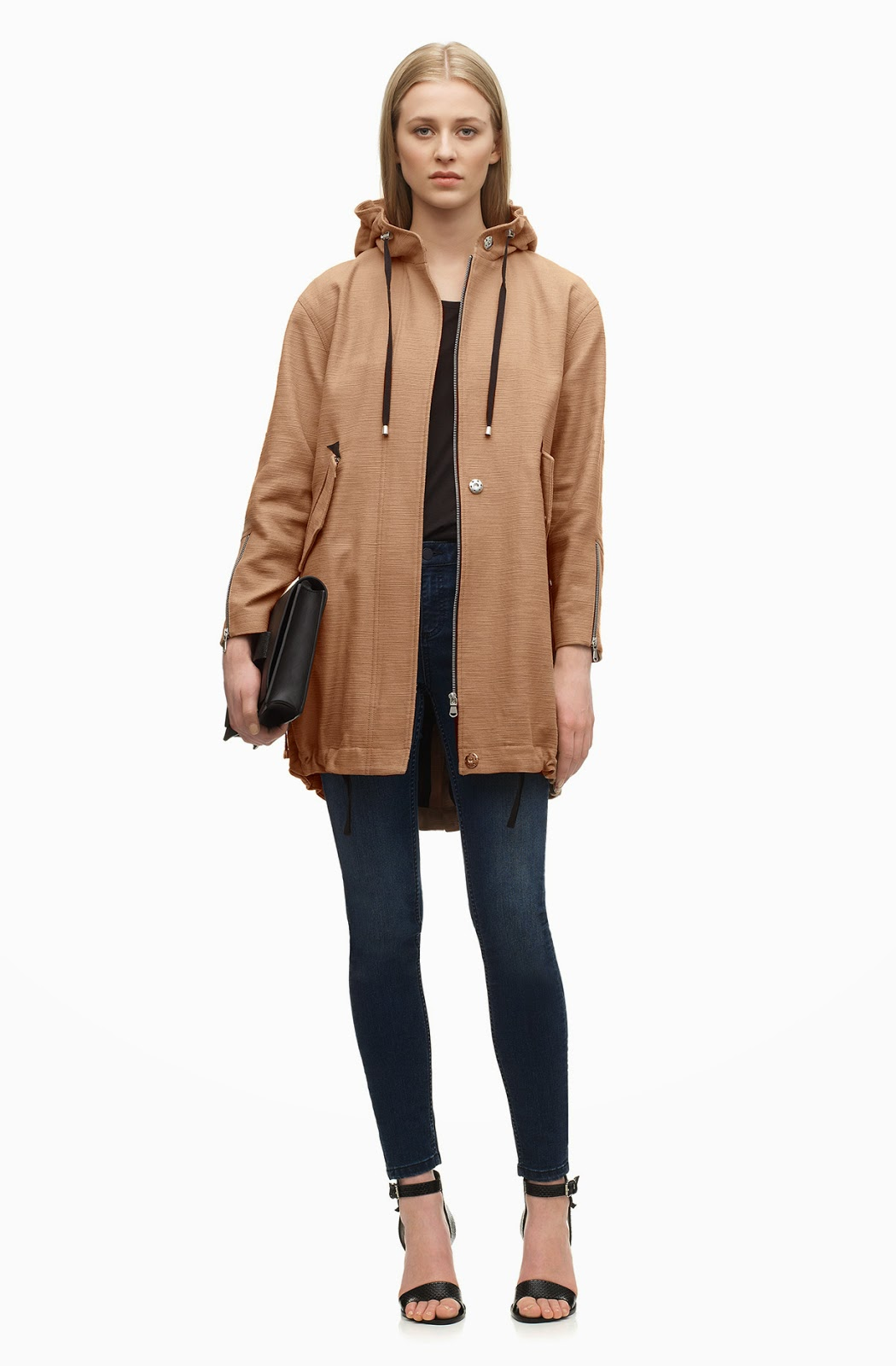 whistles parka coat