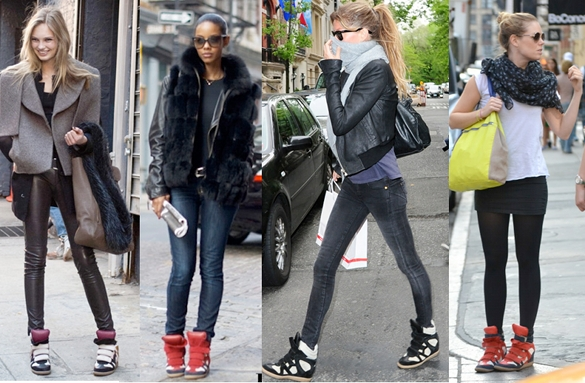 Tendencias sneakers Isabel Marant