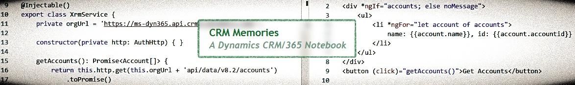CRM Memories