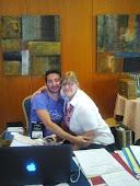 Con Chav en Barcelona 2012