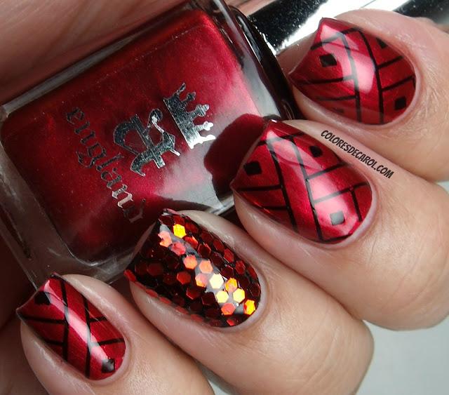 Фото шикарного дизайна ногтей