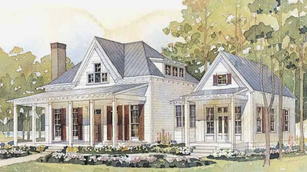 Vintage farmhouse march 2014 for Farmhouse cottage house plans