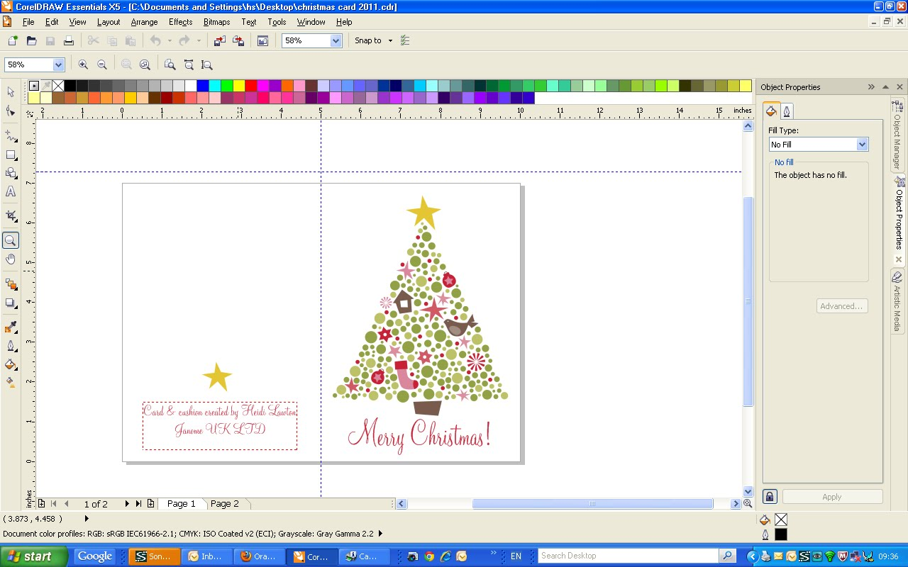 ... tutorial corel draw x5