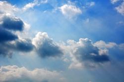 Wolken am Nachmittag...