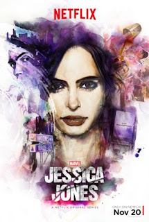 Jessica Jones de Marvel Temporada 1 Poster