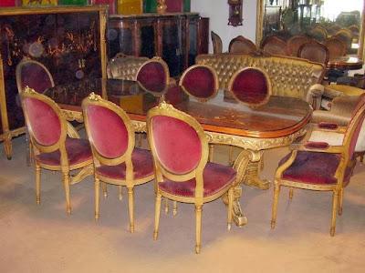 Muebles estilo Luís XV
