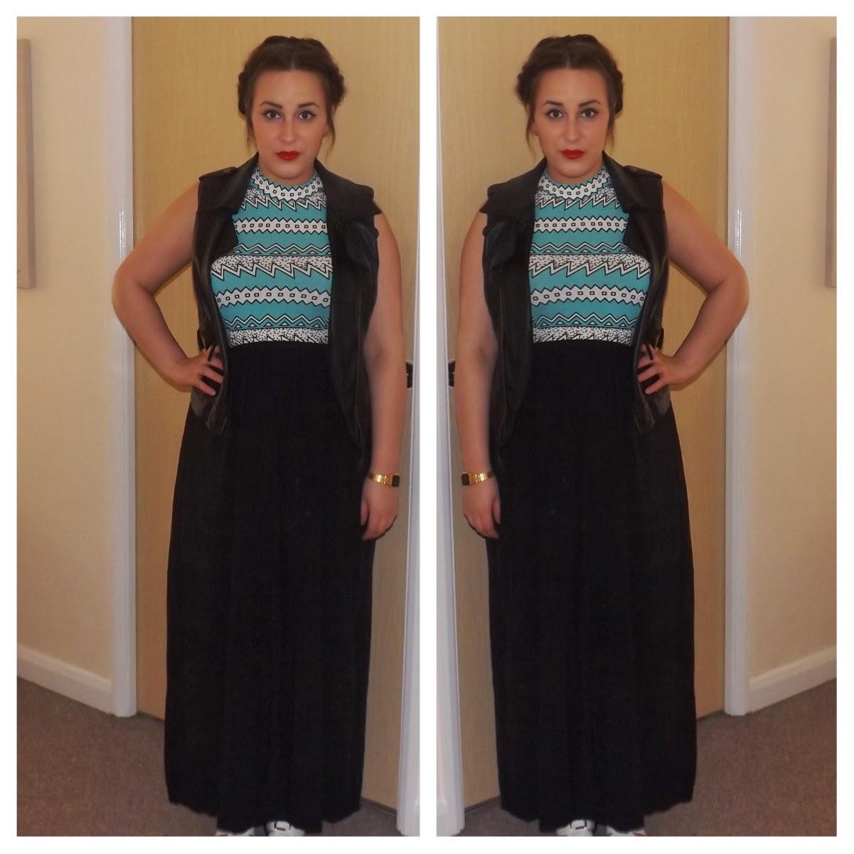 OOTD maxi skirt