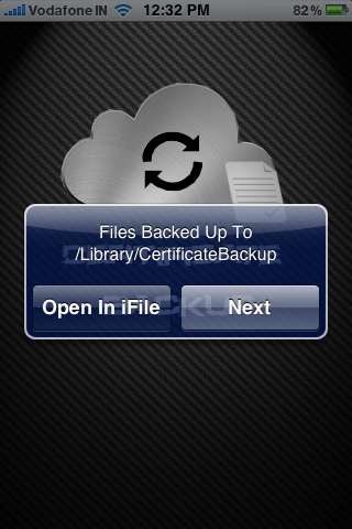 how to use ifile on iphone