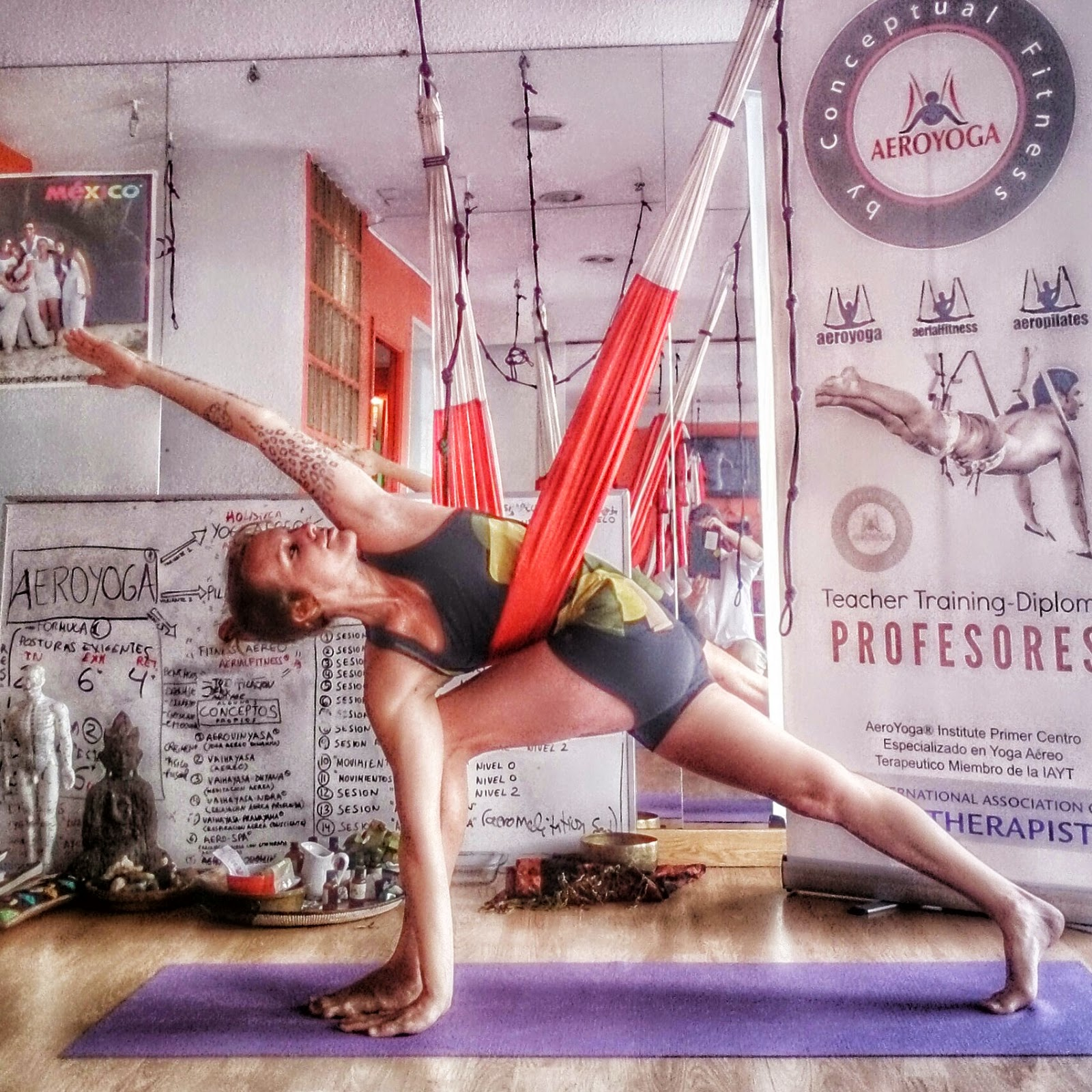 Yoga Aéreo Trapecio