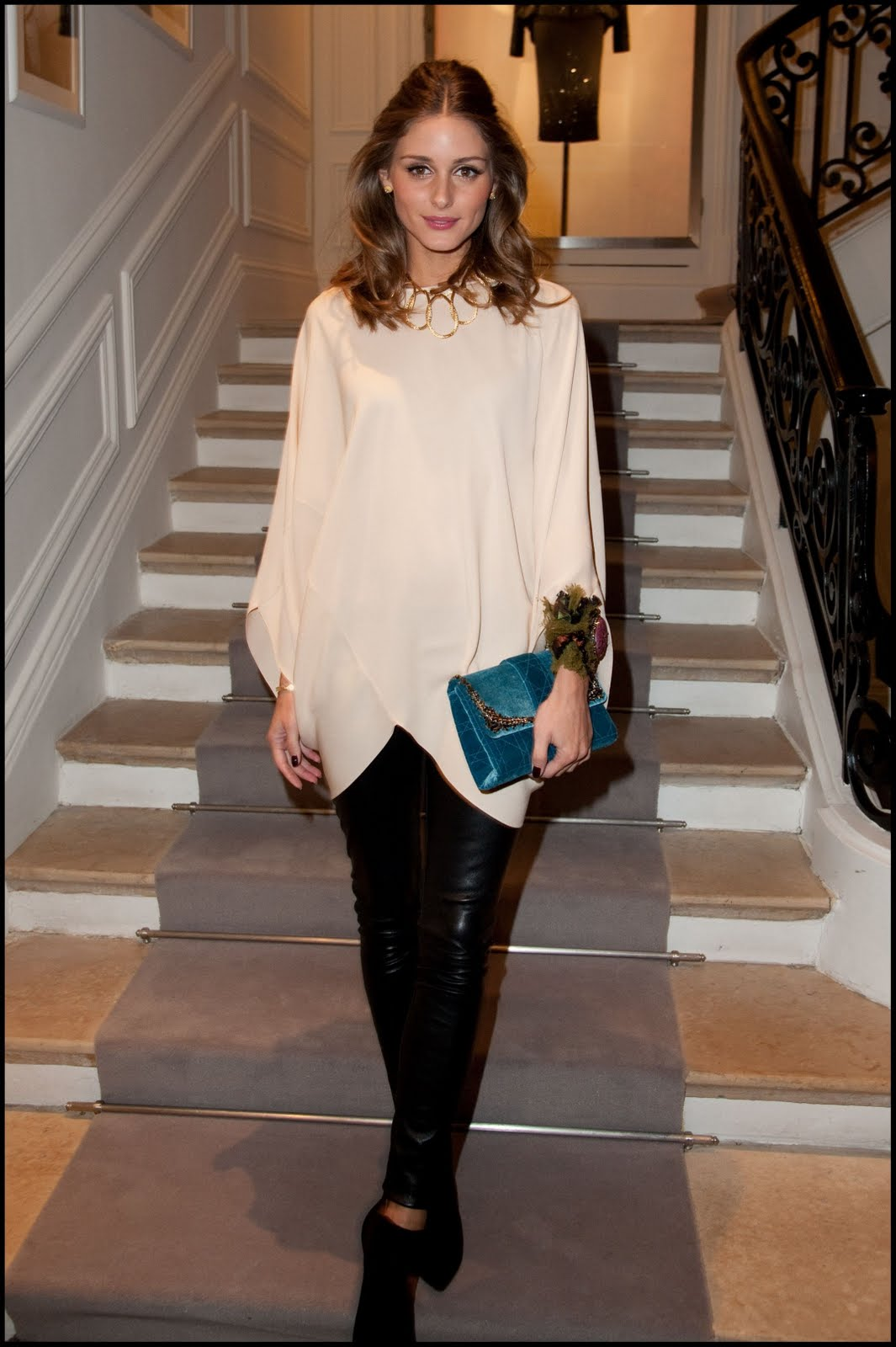 Wedding Bride Olivia Palermo At The Dior Haute Couture 2012 Show During Paris Fashion Week