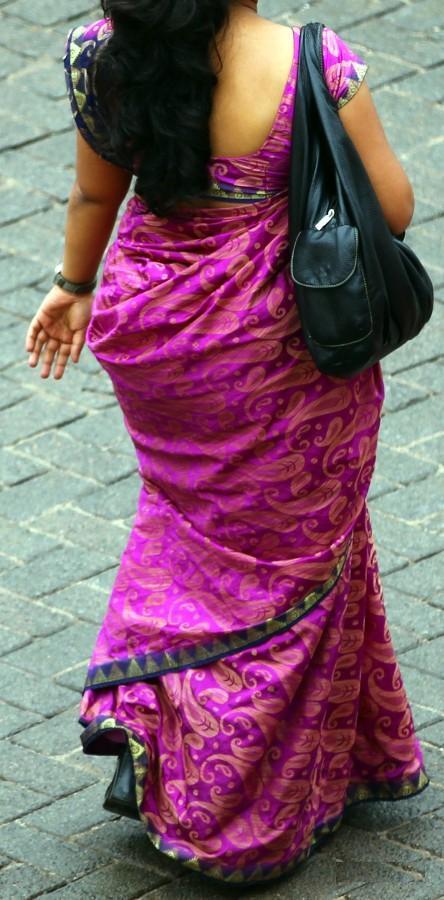 big saree gaand aunty stephani as soon as naked girl
