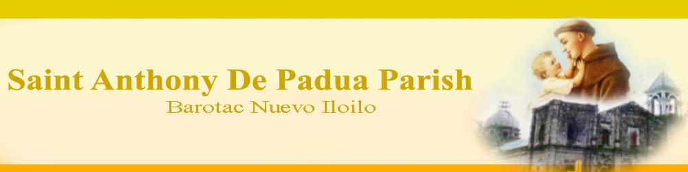 St. Anthony De Padua of Barotac Nuevo Iloilo: History