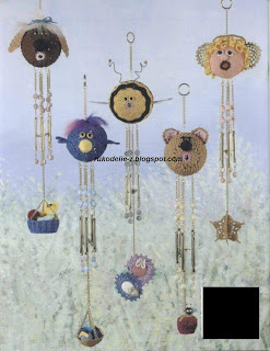 Crochet Whimsical Windchimes